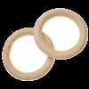 Houten ringen macrame